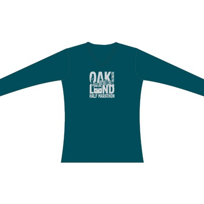 2016 Oakland Half Marathon Women's Race Shirt